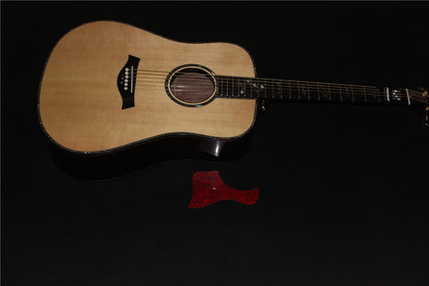 free shipping AAA quality solid acoustic guitar electric guitars with EQ Byron TB-910C model for sale