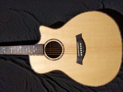 free shipping 2020 Newest Chaylor 912ce Solid Acoustic Guitar,Natural wood Cutaway Electric Guitarra