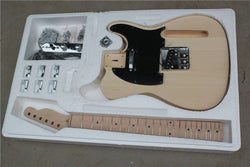 free shipping Tele Style Diy Electric Guitar Kits unfinished guitar with hardware