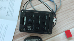 free shipping Guitar Pickups Presys + Preamp EQ Tuner Piezo Pickup Equalizer System Acoustic Guitar Pickup