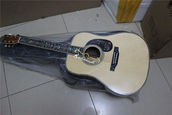 free shipping AAA quality handmade guitar all solid wood acoustic electric guitar custom super best quality guitars