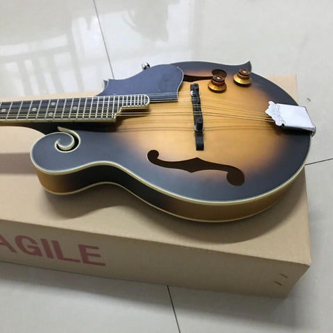 free shipping solid wood handmade mandolin electric guitar 8 string guitar  top quality mandolin 8 strings