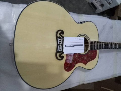 free shipping J200 jumbo acoustic electric guitar 43 inches natural color guitar