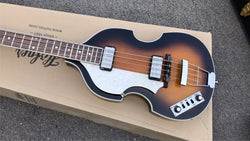 free shipping New + Factory + lefty Hofner contemporary series bass left handed Hofner HCT-500/1-SB bass BB2 3 piece neck backhard Hofner