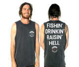 HELL RAISER MUSCLE TEE - BHMT001