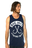 CROSS HOOKS MENS SINGLET - BHST003