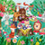 50 piece Floor Puzzle - Garden Party