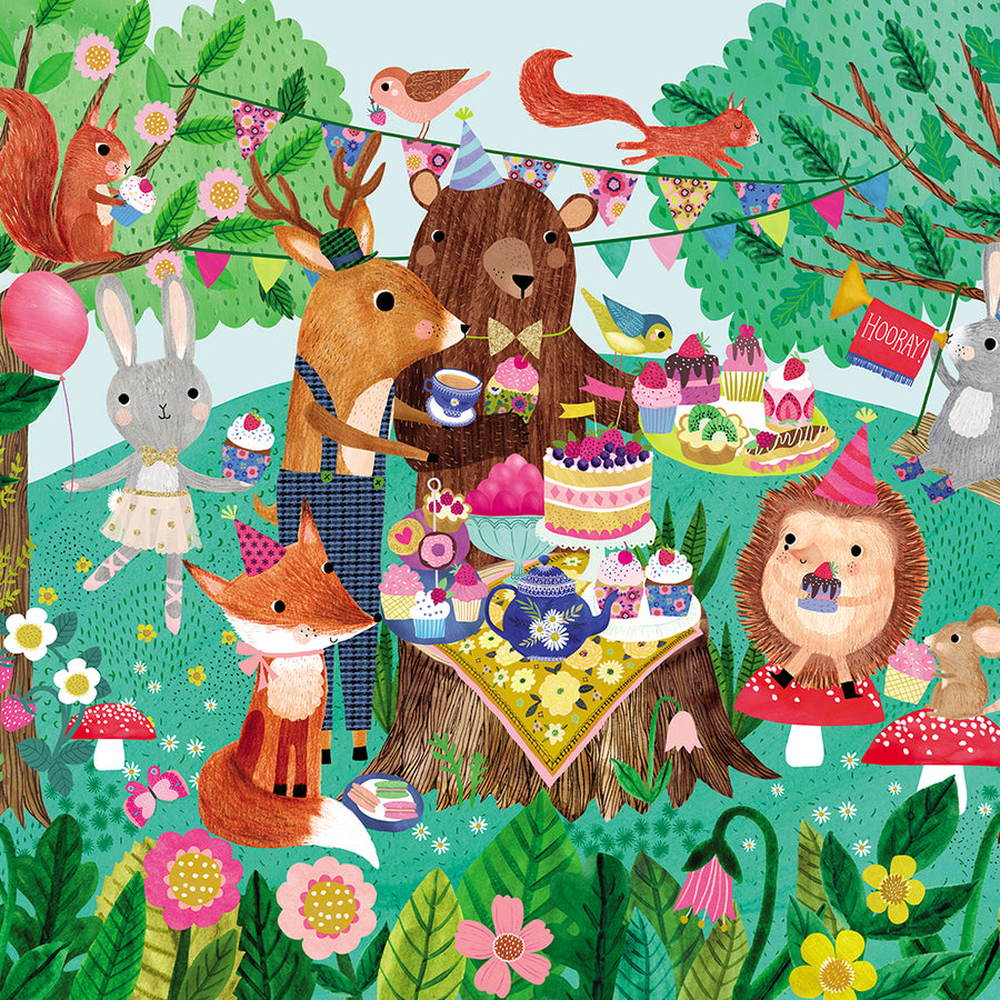 50 piece Floor Puzzle - Garden Party - Everbloom Kids