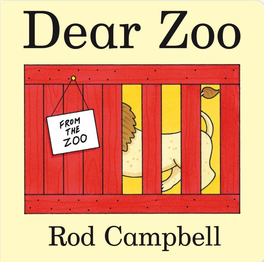 Dear Zoo Board Book by Rod Campbell - Everbloom Kids