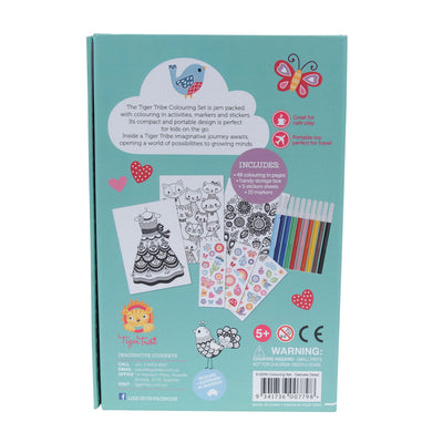 Colouring Set - Delicate Detail - Everbloom Kids