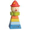Stacking Clown - Red Hat - Everbloom Kids