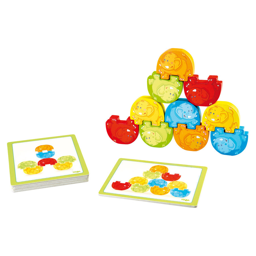 Stacking Game Wigglefants - Everbloom Kids