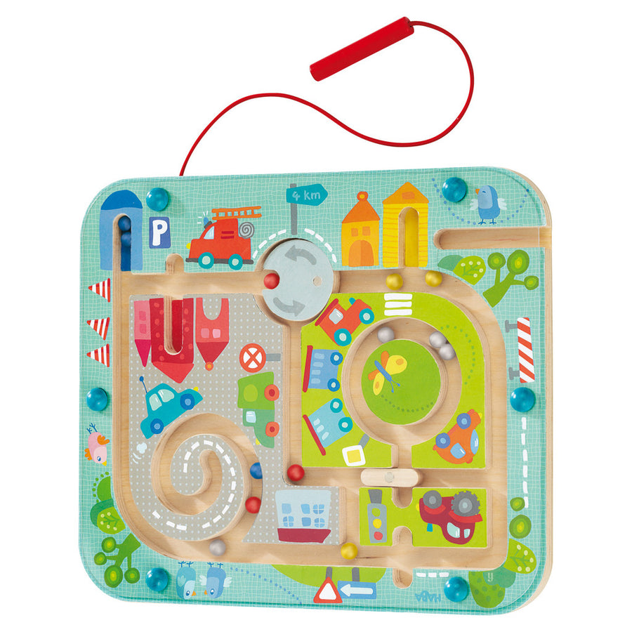 Magnetic Game Town Maze - Everbloom Kids