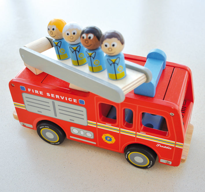 Freddie Fire Engine - Everbloom Kids