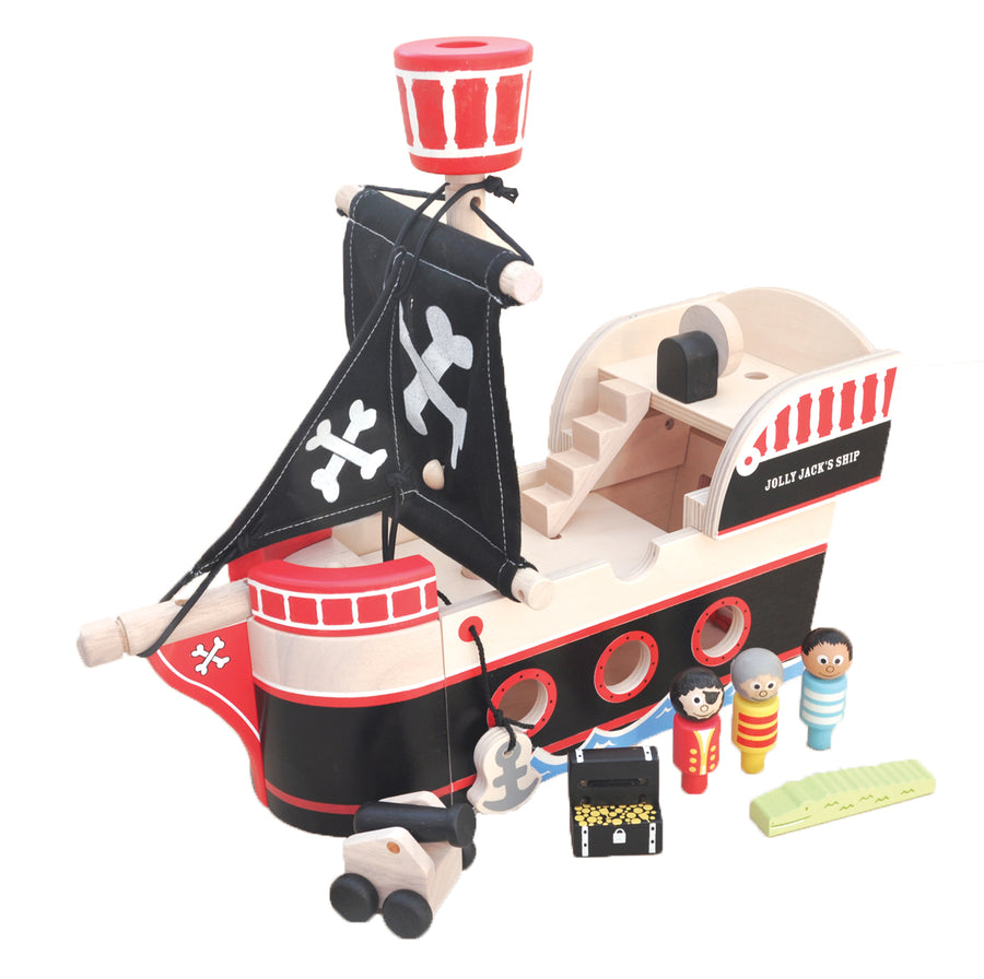 Jolly Jack's Pirate Ship - Everbloom Kids