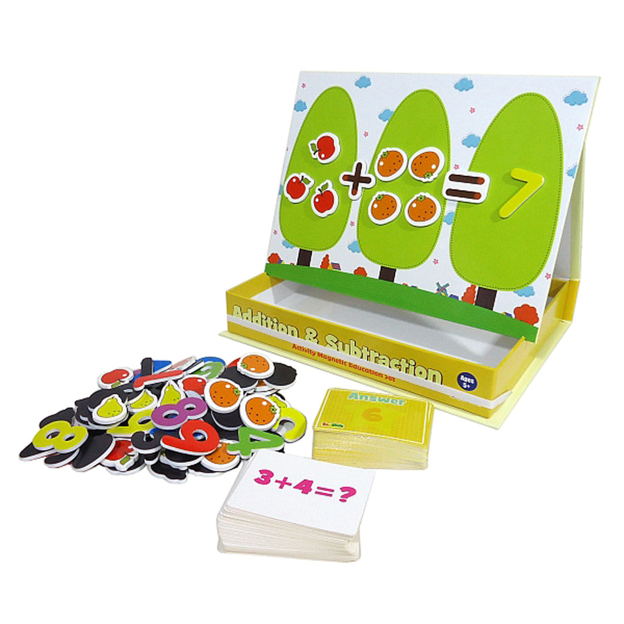 Addition & Subtraction Magnetic Educational Activity Set - Everbloom Kids