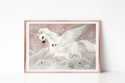 Among the Stars Art Print - FERA - Everbloom Kids