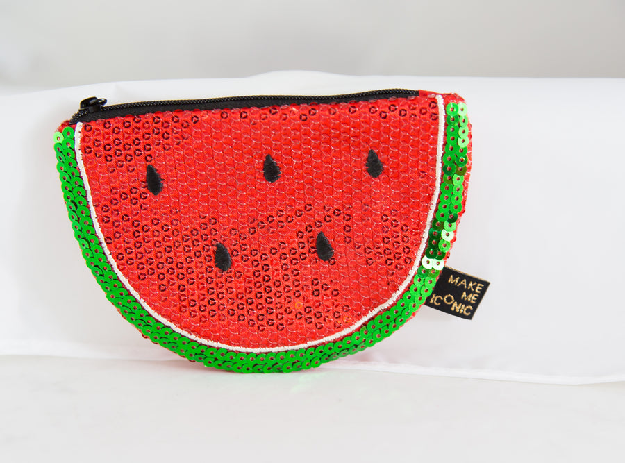ICONIC SEQUIN PURSE - WATERMELON - Everbloom Kids