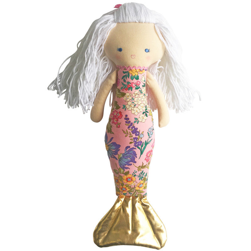 Mermaid Doll Pink (40cm) - Everbloom Kids