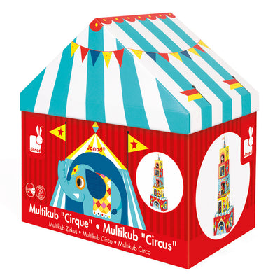 Multikub Stacking Circus - Everbloom Kids
