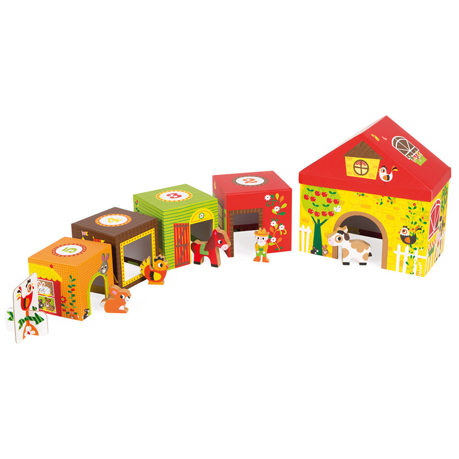 Multikub Stacking Farm - Everbloom Kids