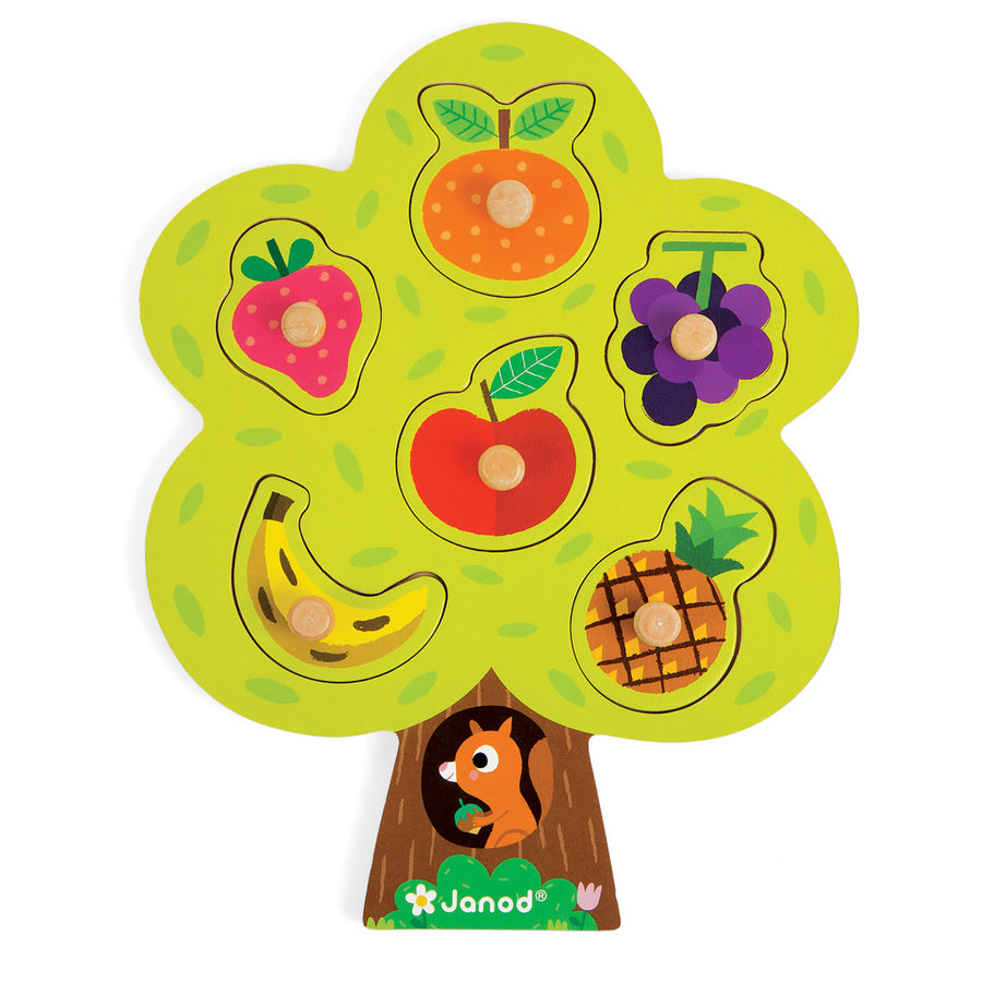 Fruit Tree Puzzle - Everbloom Kids