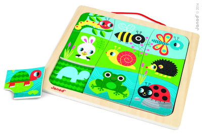 Happy Garden Magnetic Puzzle - Everbloom Kids