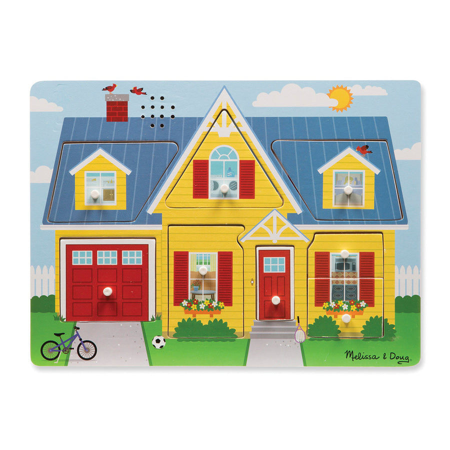 Around the House Sound Puzzle - 8pc - Everbloom Kids