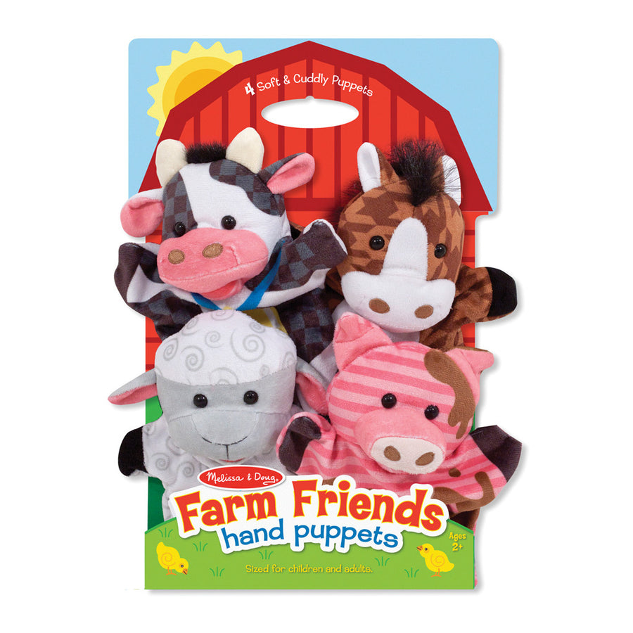 Hand Animal Puppets – Farm - Everbloom Kids