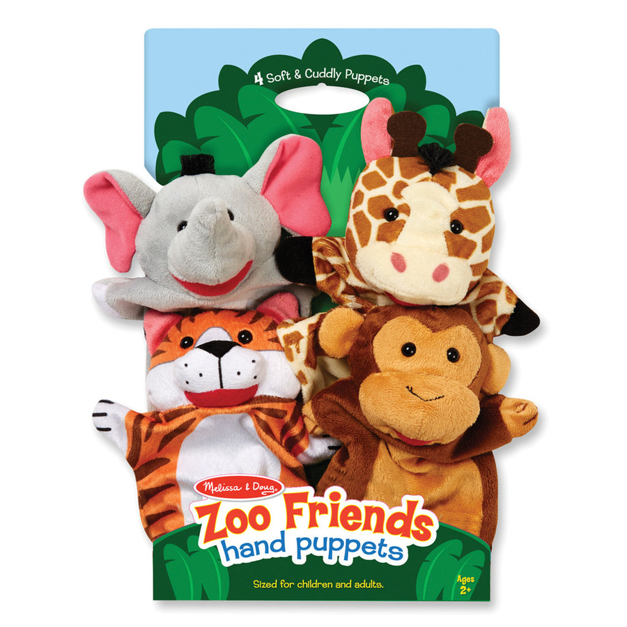 Hand Animal Puppets - Zoo - Everbloom Kids