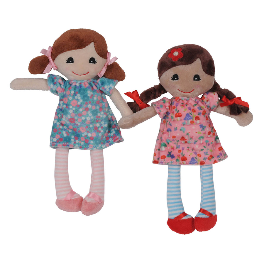 Mini Rag Doll - Elsie (Pink) - Everbloom Kids