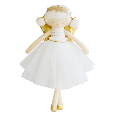Holly Angel Doll 48cm Gold Ivory - Everbloom Kids