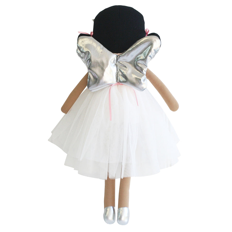 Eve Angel Doll 48cm Silver & Pink - Everbloom Kids