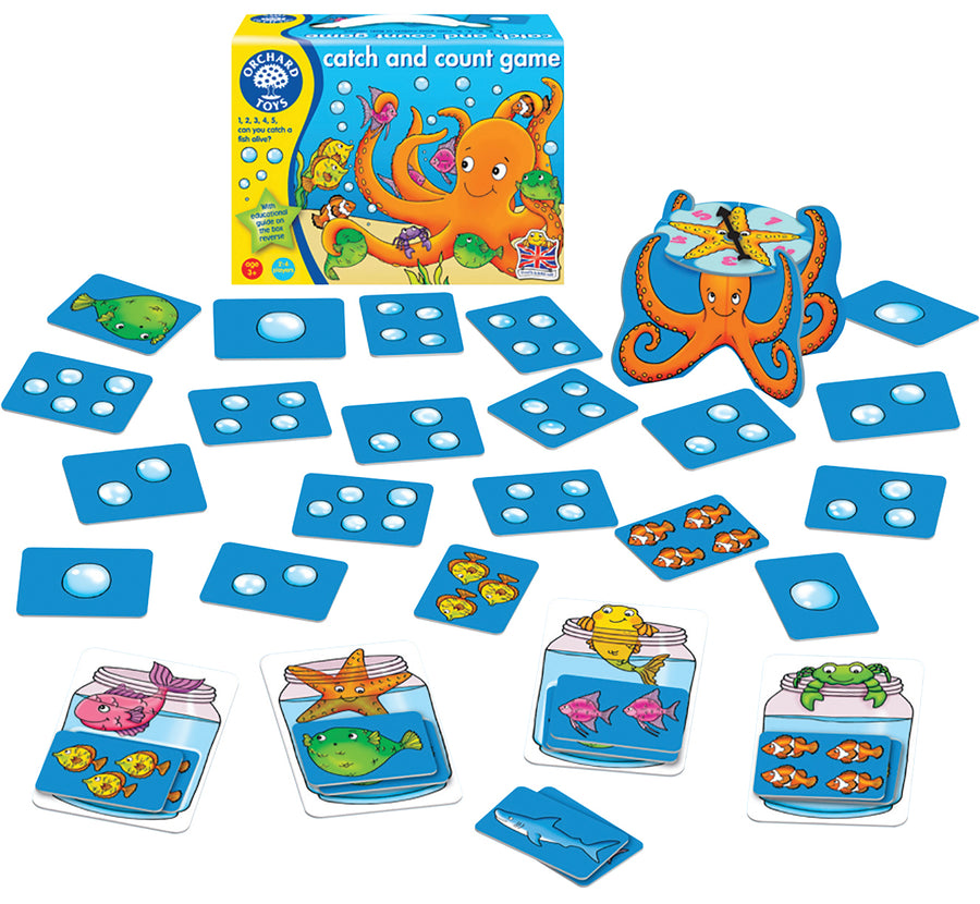 Catch and Count Educational Game - Everbloom Kids