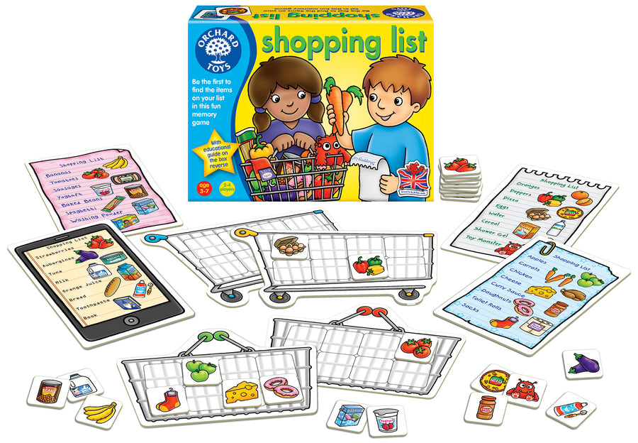 Shopping List Game - Everbloom Kids