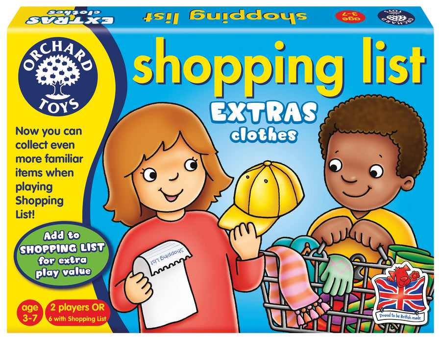 Shopping List Booster Pack - Clothes - Everbloom Kids