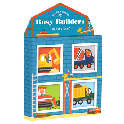 Busy Builders Mini Book Library Set - Everbloom Kids