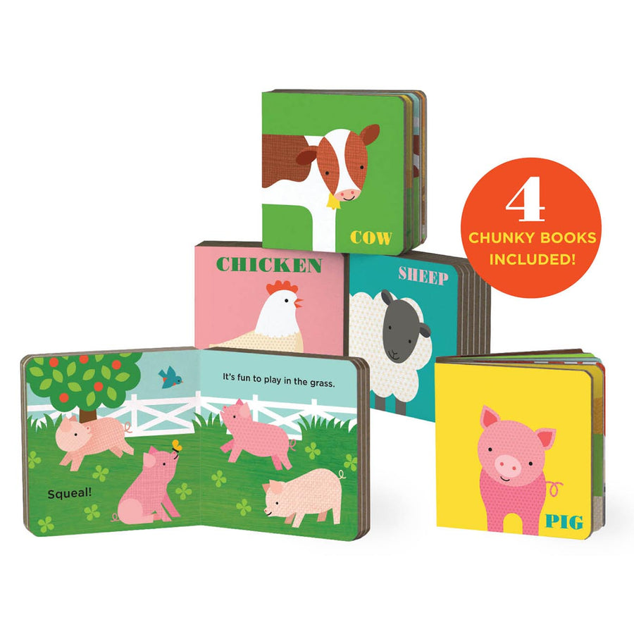 Friendly Farm Mini Book Library Set - Everbloom Kids