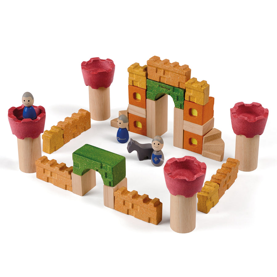 Castle Blocks - 35 pieces - Everbloom Kids