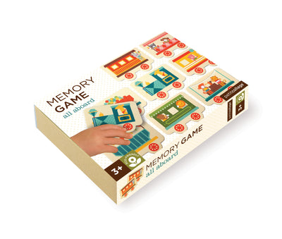 Memory Game - All Aboard - Everbloom Kids