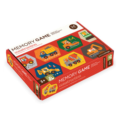 Construction Memory Game - Everbloom Kids