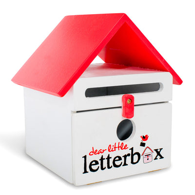 Red Dear Little Letterbox - Everbloom Kids