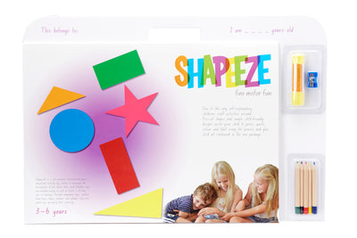 Shapeeze A3 Activity Pad 3-6 years - Everbloom Kids