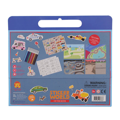 Sticker World - On the Move - Everbloom Kids