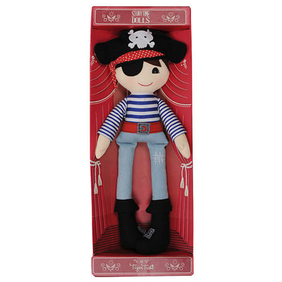 Storytime Doll – Pedro Pirate - Everbloom Kids