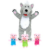 Wolf & 3 Pigs Hand Puppet - Everbloom Kids