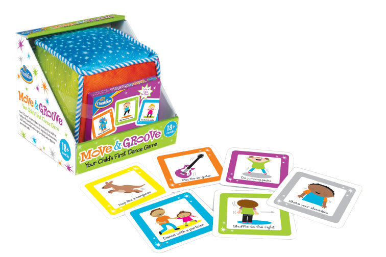 Move & Groove Game for kids to play