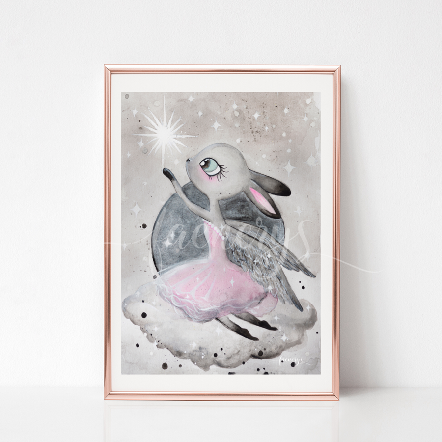 Among the Stars Art Print - LULA - Everbloom Kids