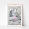 Among the Stars Art Print - EDDA - Everbloom Kids
