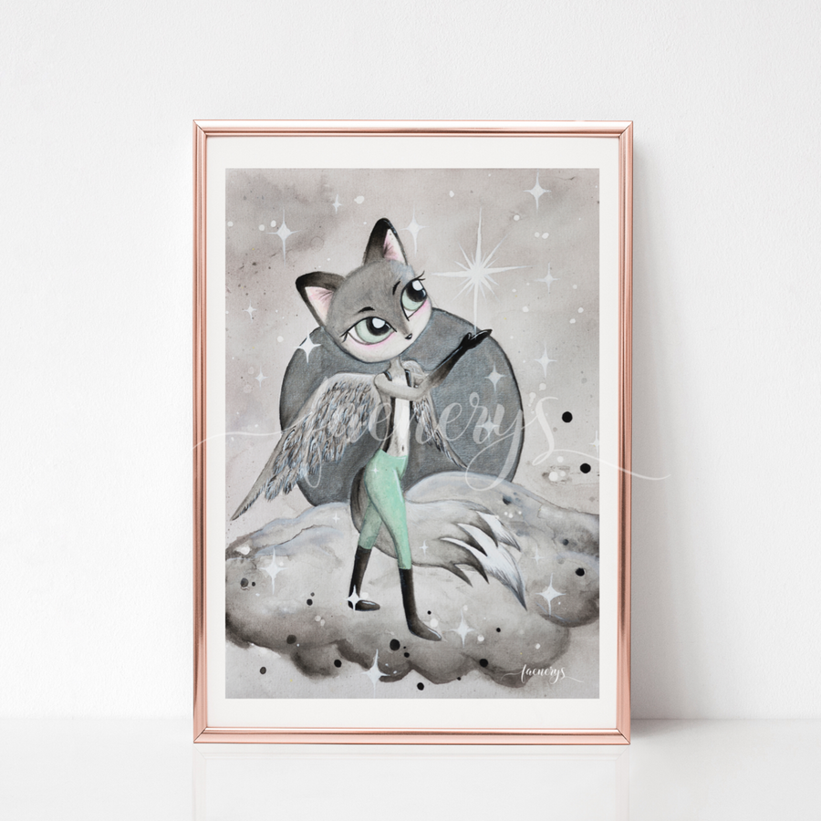 Among the Stars Art Print - GIDEON - Everbloom Kids